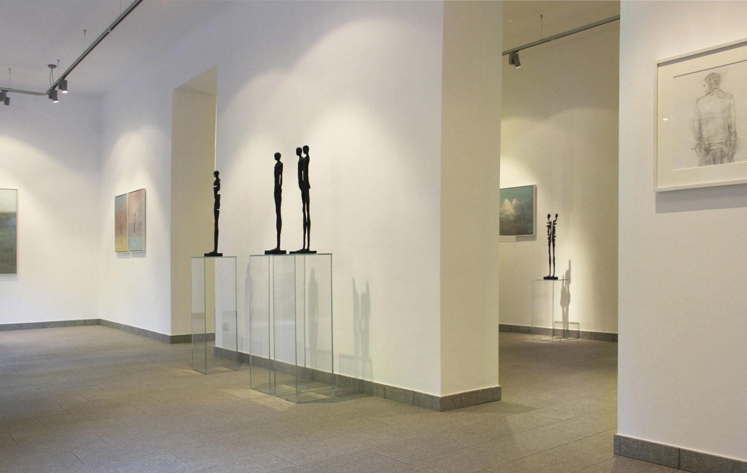 Soliloquio, Federico Infante, Johannes Nielsen, Allestimento mostra