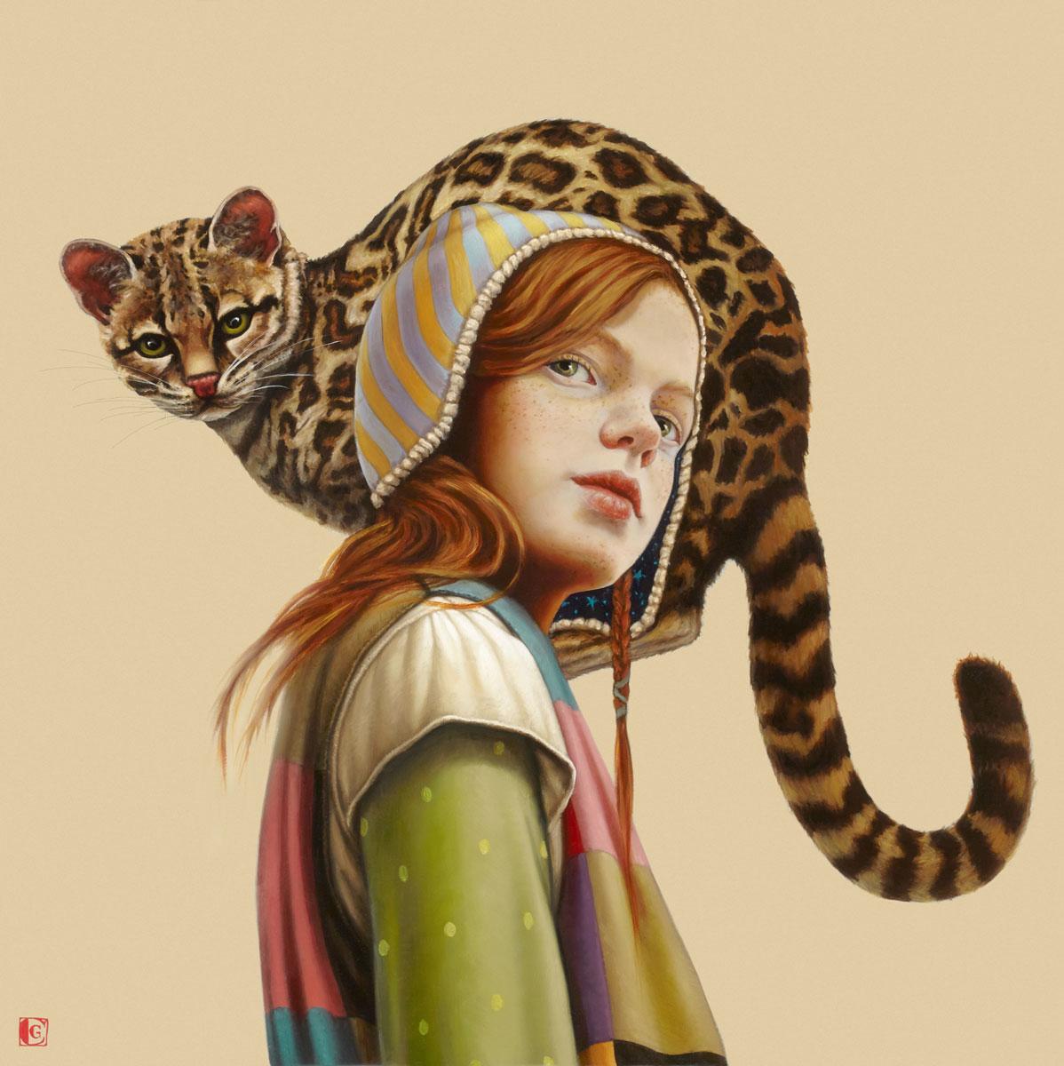 GIRAUDO CLAUDIA, Per Lola, 2018, olio su tela, 60 x 60 cm