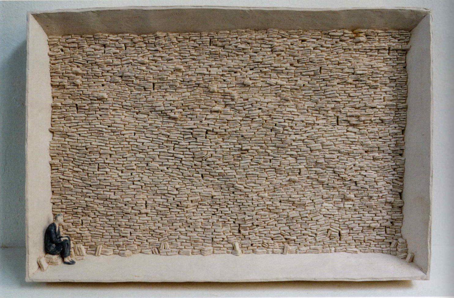 Pino Deodato - Feritorie, 2020, terracotta policroma, courtesy: Galleria Dep Art Milano, ph. Tommaso Correale